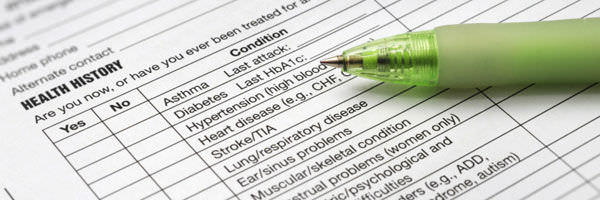 health forms for disability