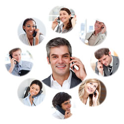 People on the phone with a personal injury attorney in Chester, PA