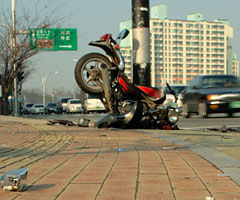 Motorcycle accident - Fatal accident